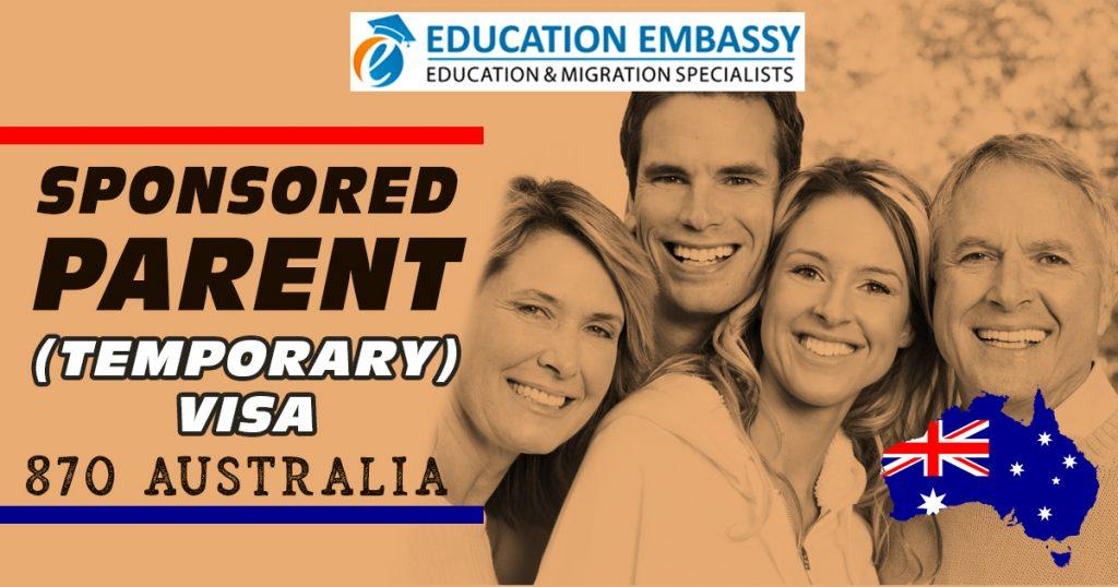 Sponsored Parent (Temporary) visa - 870 Australia