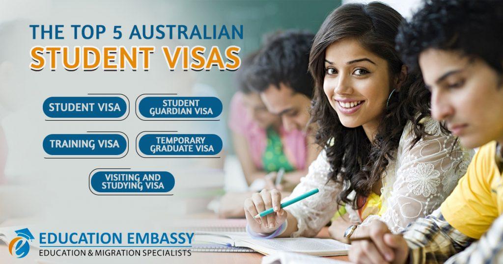 The Top 5 Australian Student Visas
