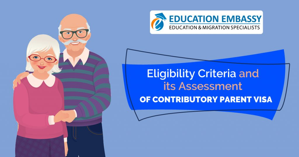 eligibility criteria and its assessment of contributory parent visa
