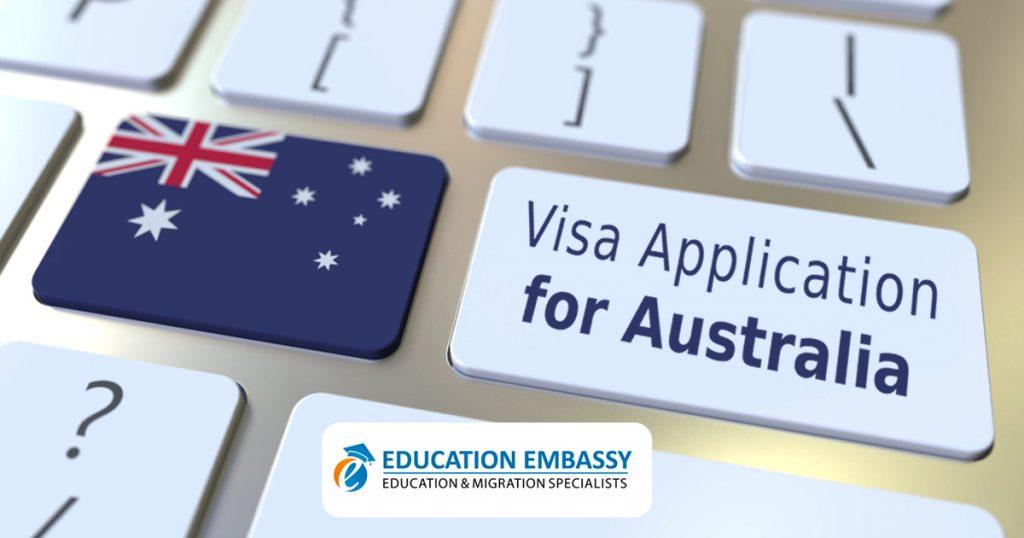 Visa application for Australia
