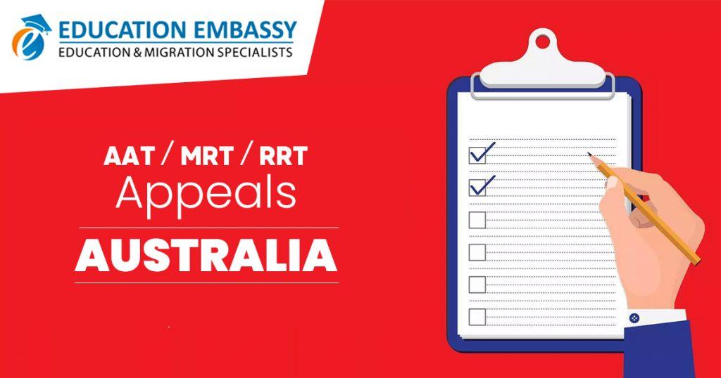 AAT/MRT/RRT Appeals - Education Embassy