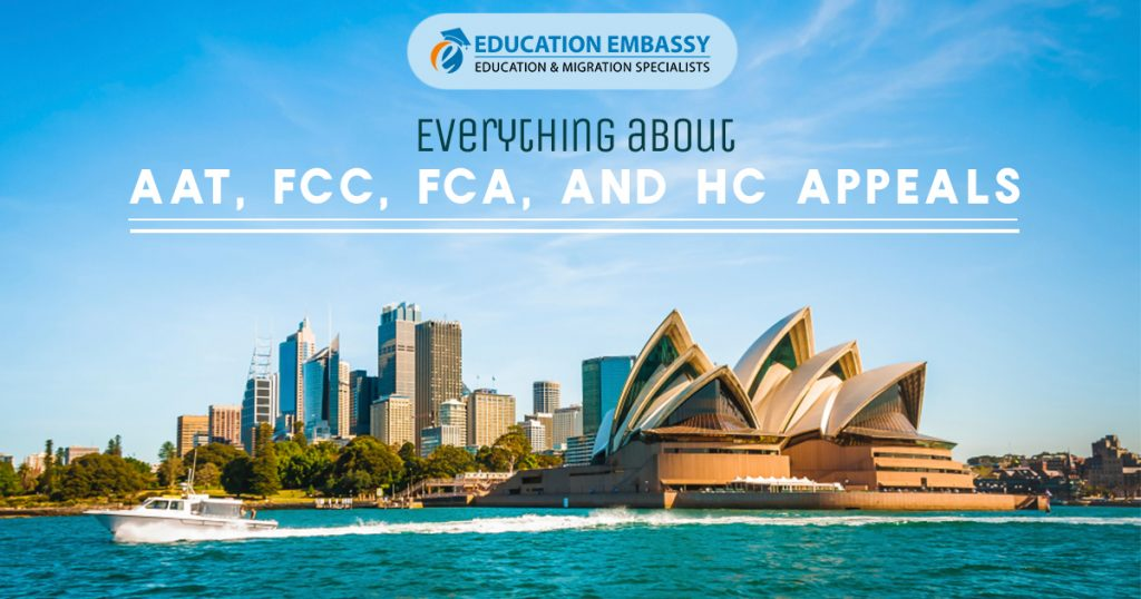 Everything about AAT, FCC, FCA, and HC Appeals - educationembassy.com.au