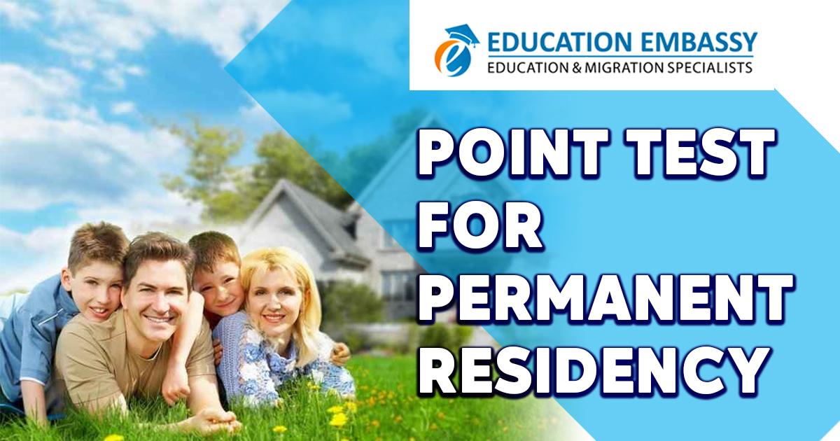 Point Test for Permanent Residency (PR) Australia