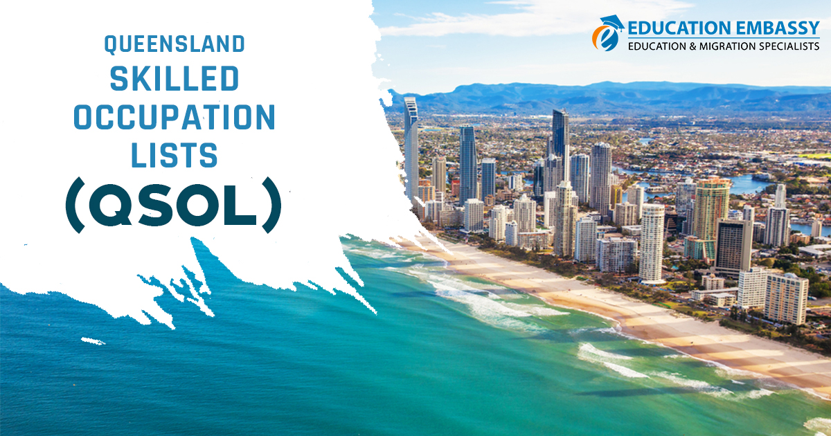 Queensland Skilled Occupations (QSOL) List 2019 - Education Embassy