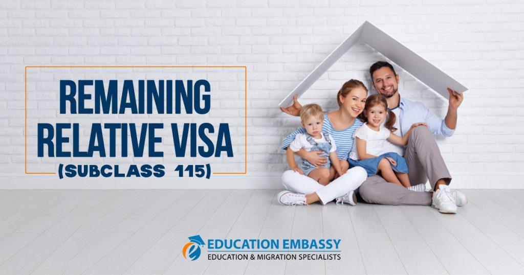 Remaining Relative visa (subclass 115)