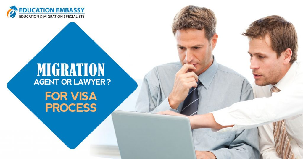 Migration agent or lawyer for Visa process