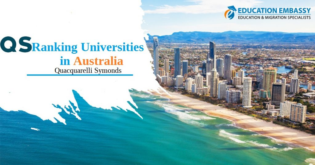QS Ranking Universities in Australia