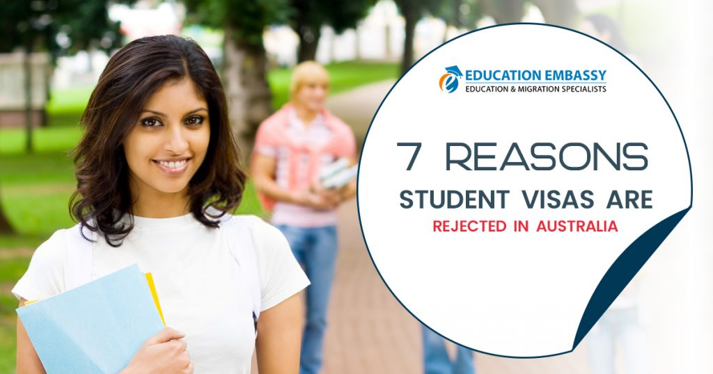 7 Mistakes Why Your Australian Student Visa Rejected