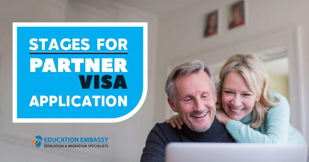 Stages for Partner Visa Application