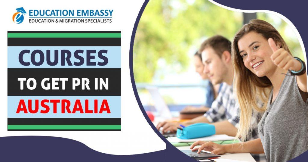 Courses to get PR in Australia