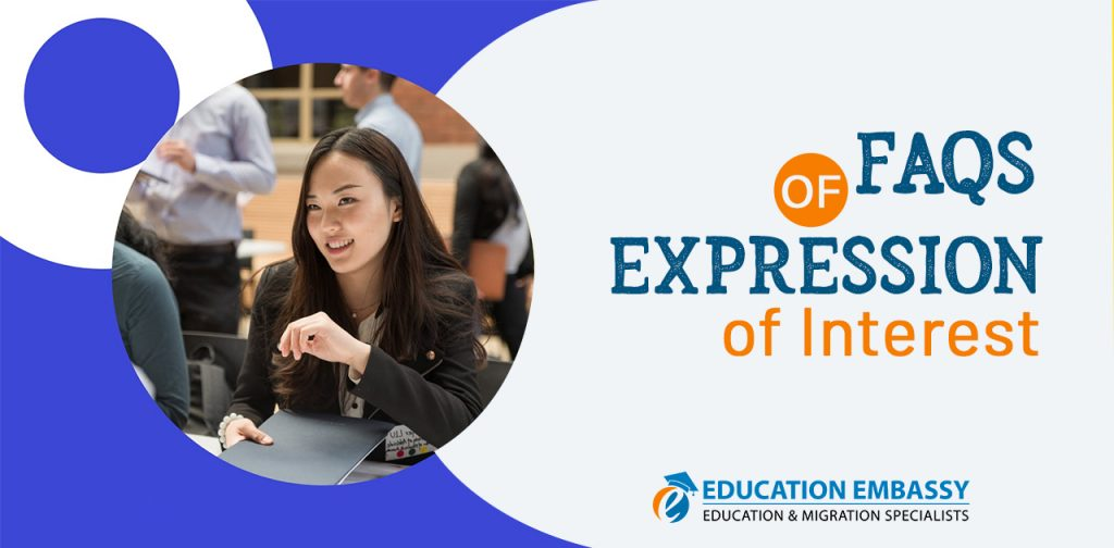 FAQs of Expression of Interest Education Embassy Brisbane