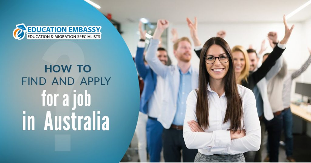 How to find and apply for a job in Australia