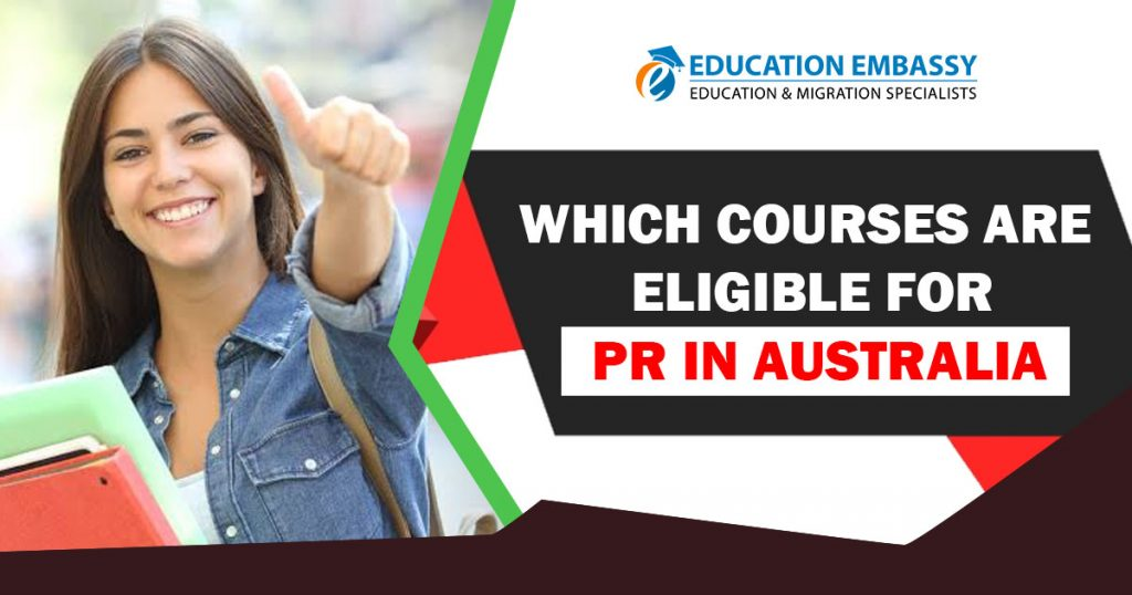 Which Courses are Eligible for PR in Australia