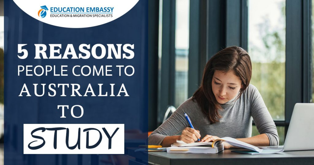 5 Reasons Why Australia Is An Ideal Place For Getting Employment & Study