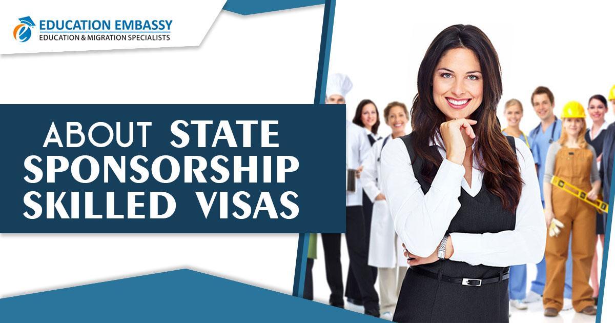 About state sponsorship skilled visas