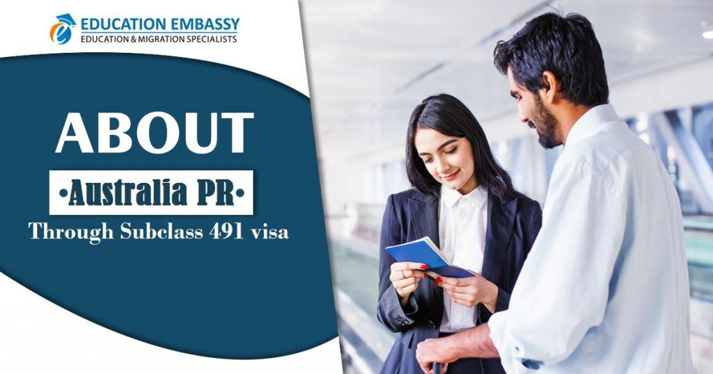 Australia PR through Subclass 491 visa