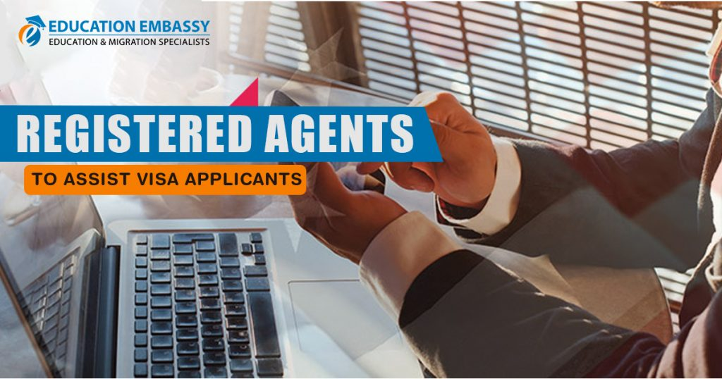 Only registered agents can advise on immigration visas