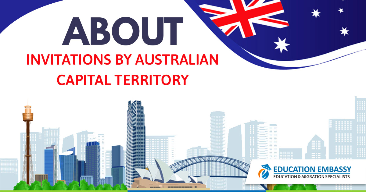 About invitations by Australian Capital Territory