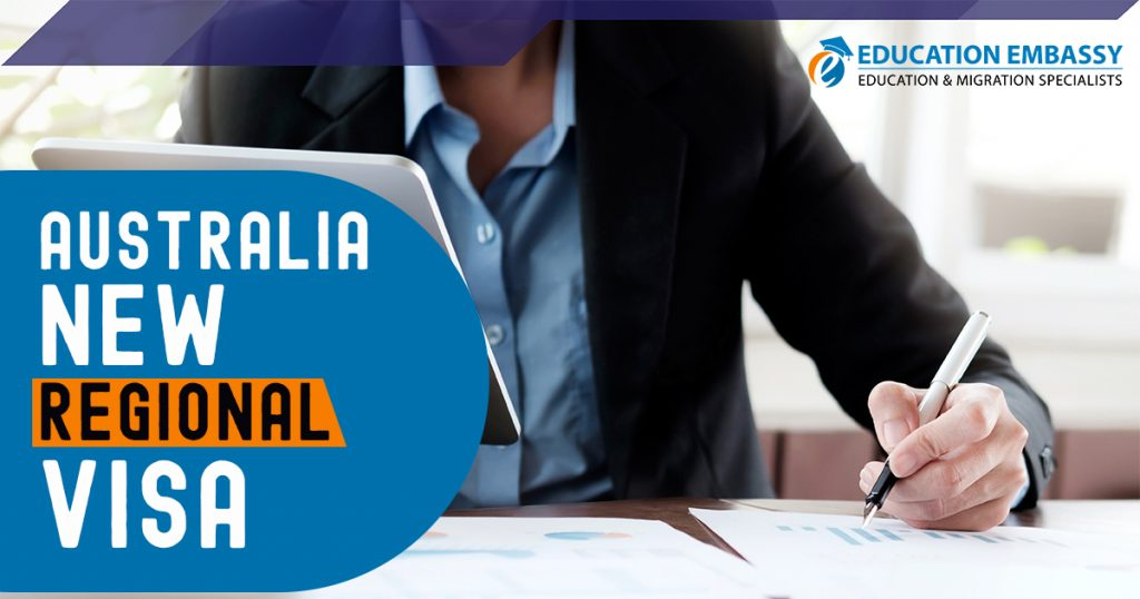 Australia new regional visa Updates 2020