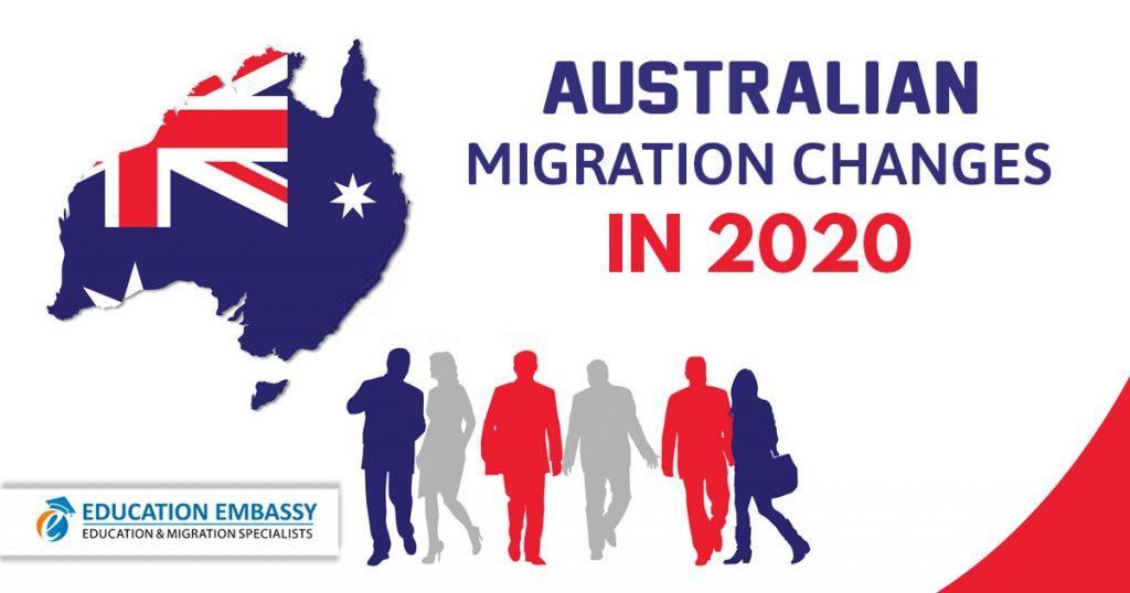 Australian Migration Changes in 2020