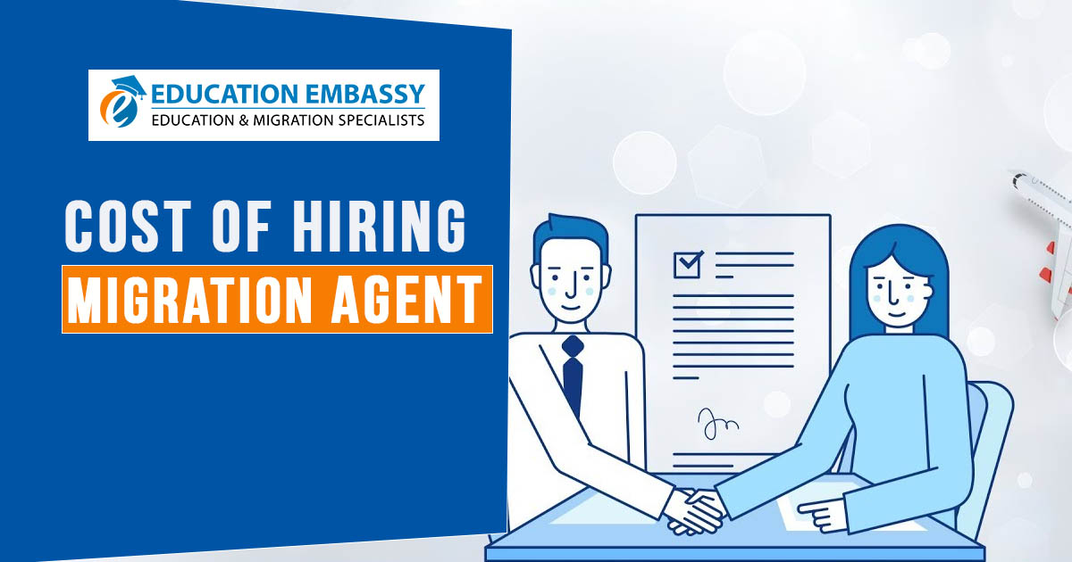 Cost of hiring migration agent