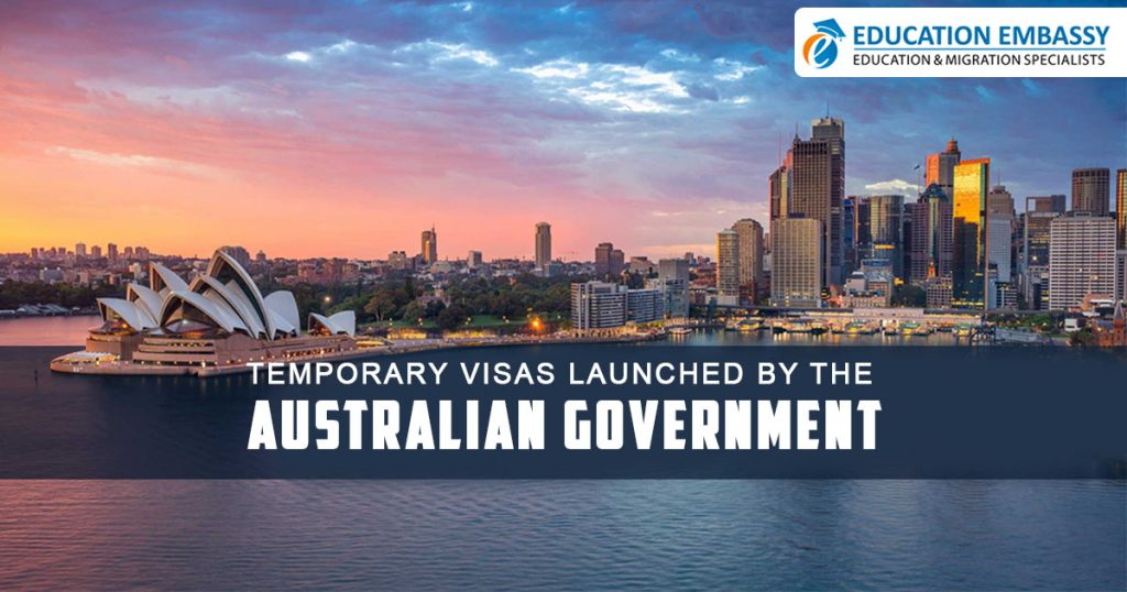 Temporary visas launched by the Australian government