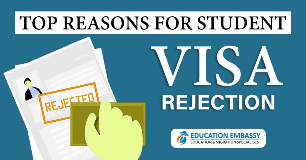 Top reasons for Student visa rejection Brisbane