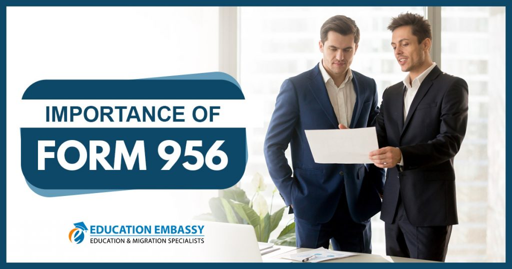 Importance of Form 956 Advice by a Migration Agent brisbane