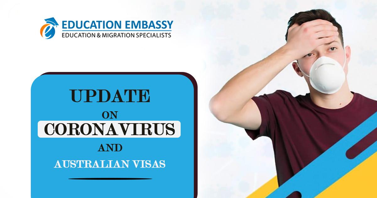 Updates on Coronavirus And Australian Visas