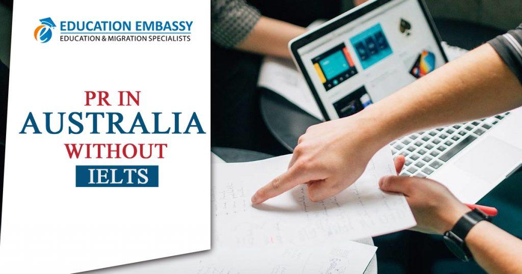 PR in Australia without IELTS