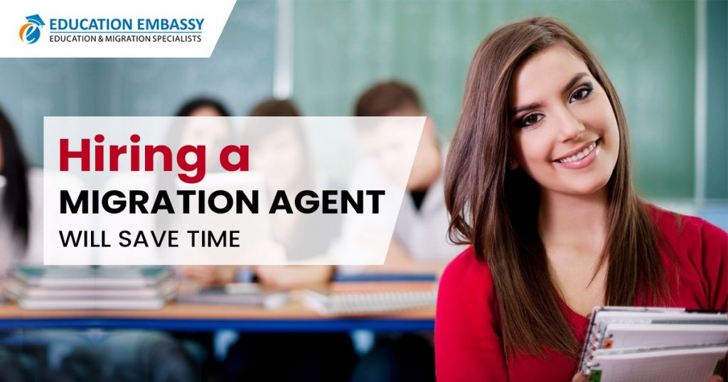Hiring a migration agent will save time