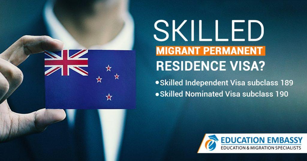 Skilled Migrant Permanent Residence Visa