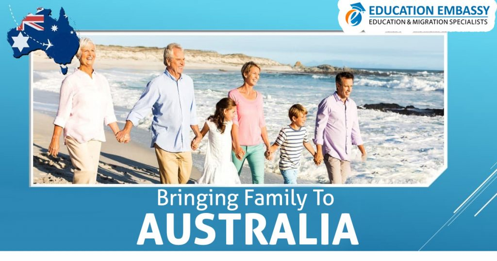 Bringing family to Australia