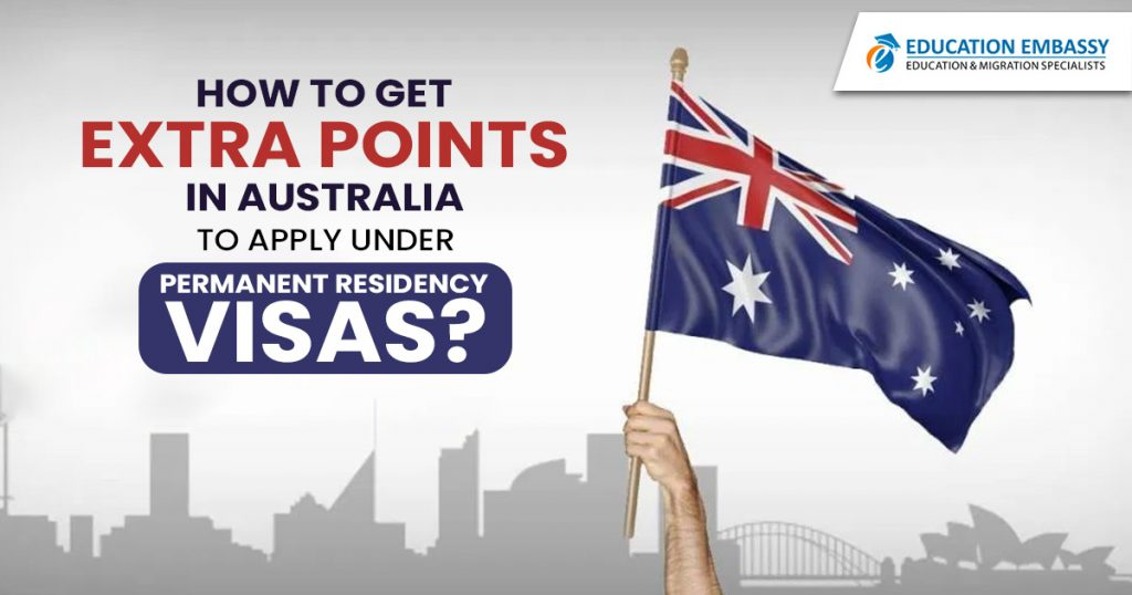How to get extra points in Australia to apply under Permanent residency visas