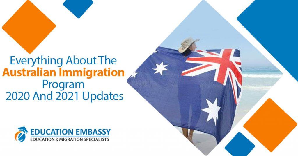 Australian Immigration program 2020 and 2021 Updates