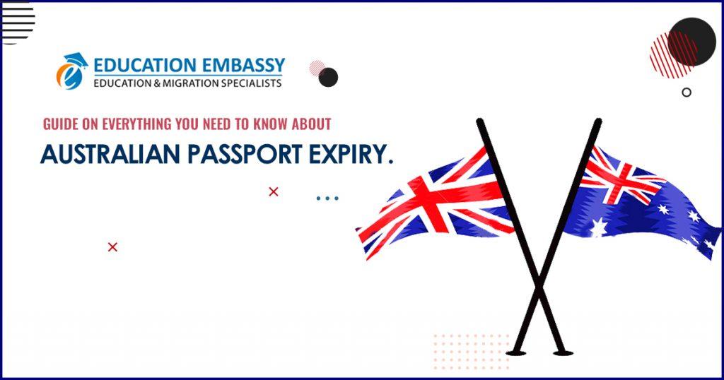 Australian passport expiry 2020
