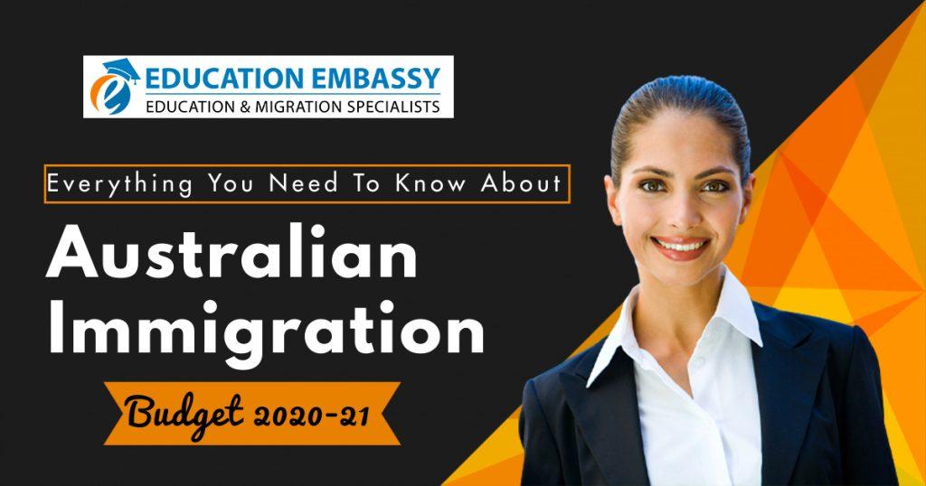 Australian Immigration Budget 2020-21