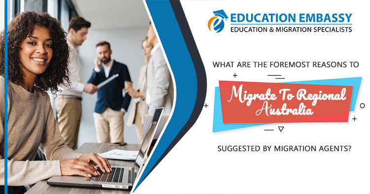 Migrate to regional Australia suggested by migration agents